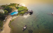 Blue Zebra Island Lodge - Lake Malawi