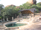 Big Cave Camp in Matobo Hills