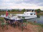 Houseboat Stormvogel Lake Kariba