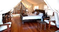 Somalisa Tented Safari Camp in Hwange