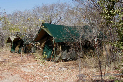 Hwange private camping
